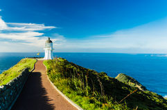Lighthouse of Cape Reinga III Royalty Free Stock Images