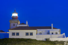 Lighthouse. Cape Roca (Cabo da Roca) - the westernmost point of the Eurasian continent, Portugal Royalty Free Stock Photos