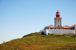 Lighthouse on Cape Roca(Portugal) Stock Photography