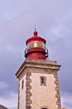 Lighthouse cape of roca, Portugal. The western point of Europe Stock Photos