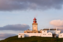 Lighthouse cape of roca, Portugal Royalty Free Stock Photo