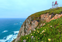 Lighthouse on Cape Roca, Portugal. Stock Images