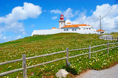 The lighthouse of Cape Roca Stock Image