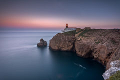 Lighthouse - Cape of São Vicente Stock Photography