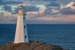 Lighthouse at Cape Spear Stock Images
