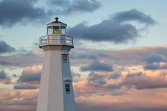 Lighthouse at Cape Spear Royalty Free Stock Images