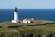 Lighthouse at Cape Wrath. Scotland Royalty Free Stock Image