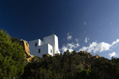Lighthouse of Capo Comino Royalty Free Stock Image