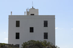 Lighthouse of Capo Comino Royalty Free Stock Photos