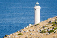 Lighthouse of Capo d'Otranto Stock Photos