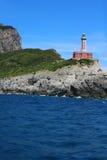 Lighthouse in Capri Stock Photo