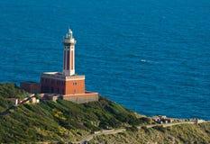 Lighthouse of Capri Island, Italy, Europe Stock Photos