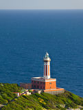 Lighthouse of Capri Island, Italy, Europe Royalty Free Stock Photos
