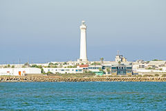 Lighthouse in Casablanca Morocco Stock Image