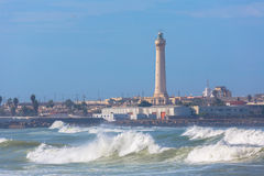 Lighthouse in Casablanca, Morocco Stock Photos