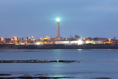 Lighthouse in Casablanca Stock Photography