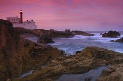 Lighthouse, Cascais Royalty Free Stock Image