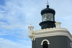 Lighthouse at Castillo San Felipe del Morro, San Juan Royalty Free Stock Images