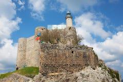 Lighthouse of Castro Urdiales Stock Photos