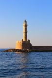 Lighthouse Chania Crete day shot Stock Photo