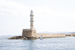 Lighthouse in Chania Royalty Free Stock Image