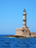Lighthouse at Chania, Crete Stock Photos