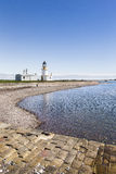 Lighthouse at Chanonry point in Scotland. Stock Photo
