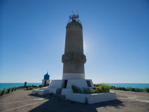 Lighthouse of the Chapel of St. Nicholas. Big Utrish. Russia. Krasnodarskiy Kray. Royalty Free Stock Photos