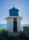 Lighthouse of the Chapel of St. Nicholas. Big Utrish. Russia. Krasnodarskiy Kray Stock Photography