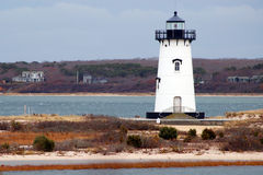 Lighthouse at Chappaquiddick Royalty Free Stock Image