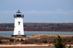 Lighthouse at Chappaquiddick Royalty Free Stock Photos