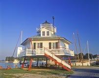 Lighthouse, Chesapeake Bay, Maryland Stock Image