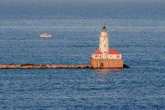 Lighthouse in Chicago Stock Photography