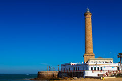 Lighthouse of Chipiona, Cadiz Royalty Free Stock Photo