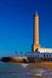 Lighthouse of Chipiona, Cadiz Stock Images