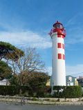Lighthouse in the City of La Rochelle France Stock Images
