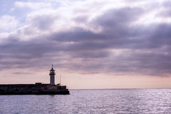 Lighthouse. The city of Yalta. Stock Images