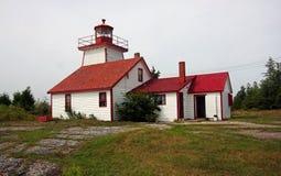 Lighthouse on the coast. A historic Lighthouse on the coast Stock Photos