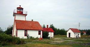Lighthouse on the coast. A historic Lighthouse on the coast Royalty Free Stock Photos