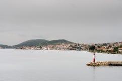 Lighthouse on the Coast. Of Adriatic sea Royalty Free Stock Photo