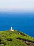 Lighthouse on coast Royalty Free Stock Photography