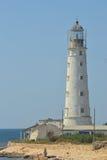 Lighthouse on the coast Royalty Free Stock Image