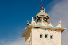 Lighthouse on the coast of Sidi Ifni Stock Photography