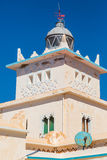 Lighthouse on the coast of Sidi Ifni Stock Images