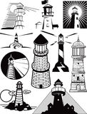 Lighthouse Collection Royalty Free Stock Images