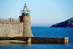 Lighthouse of Collioure Stock Photo