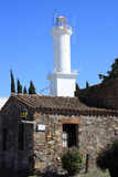 Lighthouse, Colonia del Sacramento, Uruguay Stock Photo