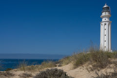 Lighthouse conil spain Stock Images