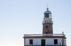 The lighthouse. Of Corrubedo, Spain Royalty Free Stock Photos