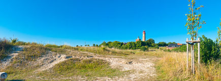 Lighthouse in a country Royalty Free Stock Photography
